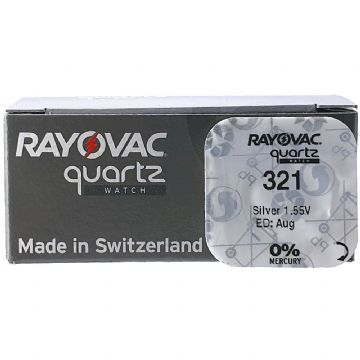 Rayovac 321 SR616SW 1.5V Silver Oxide Watch Battery